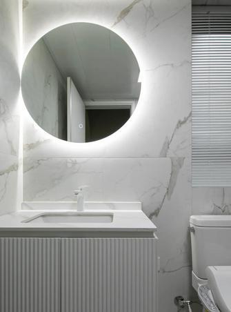 3-5万80平米公寓现代简约风格卫生间设计图