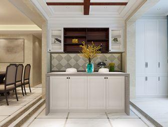 140平米四室三厅美式风格厨房装修图片大全