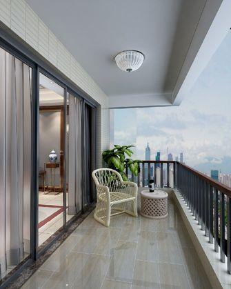 豪华型120平米三室两厅中式风格阳台设计图