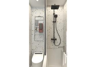 5-10万70平米公寓日式风格卫生间效果图