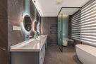 经济型140平米四室三厅现代简约风格卫生间图片大全