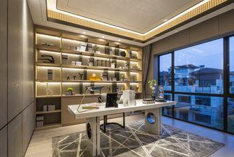 140平米复式轻奢风格书房装修效果图