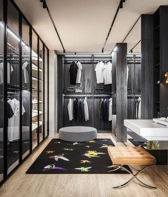 经济型130平米四室两厅北欧风格衣帽间设计图