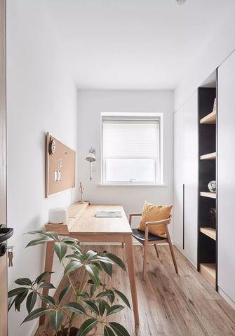 90平米三室一厅北欧风格书房设计图