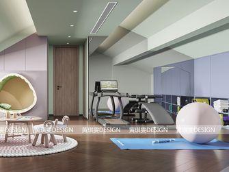 经济型140平米现代简约风格健身房装修图片大全