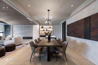 豪华型140平米三室两厅轻奢风格餐厅效果图