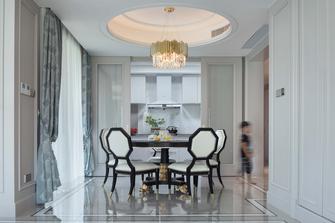 140平米四室一厅欧式风格餐厅欣赏图