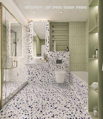3万以下80平米法式风格卫生间装修案例