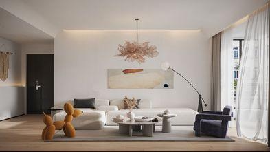 5-10万90平米现代简约风格客厅装修图片大全