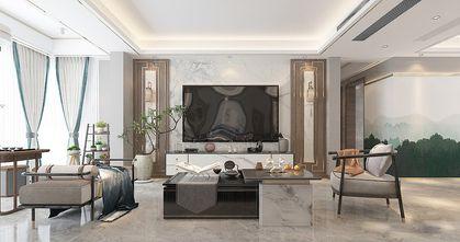 130平米三中式风格客厅图片