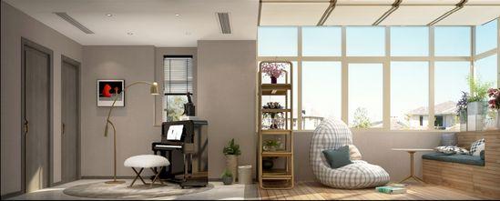 经济型100平米三室两厅北欧风格阳光房图片大全