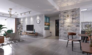 豪华型140平米三室两厅北欧风格走廊图片大全