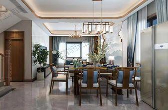 10-15万140平米复式中式风格餐厅装修图片大全