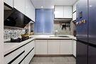 富裕型60平米一室一厅北欧风格厨房欣赏图