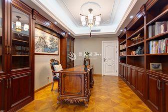 富裕型140平米复式欧式风格书房图