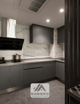 140平米三英伦风格厨房欣赏图