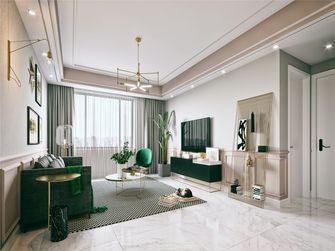 15-20万130平米三室两厅轻奢风格客厅设计图
