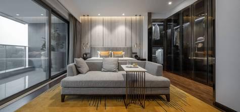 140平米三中式风格卧室装修效果图