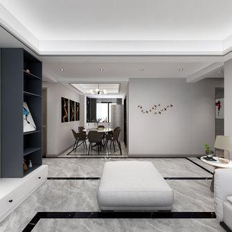 富裕型120平米三室两厅现代简约风格走廊装修案例