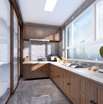 90平米一室两厅中式风格厨房图片