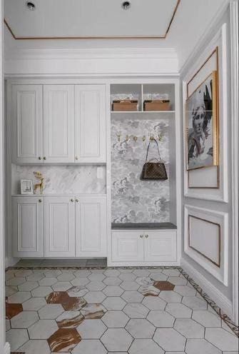 豪华型140平米三室一厅美式风格衣帽间装修图片大全