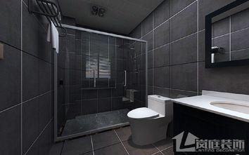 豪华型130平米四室两厅北欧风格卫生间设计图