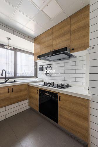 80平米三日式风格厨房装修效果图