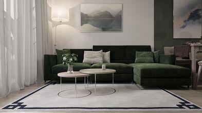 10-15万100平米四室两厅现代简约风格客厅欣赏图