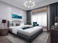 3-5万130平米三现代简约风格卧室欣赏图