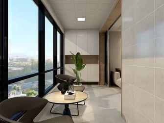 130平米三室两厅北欧风格阳台图