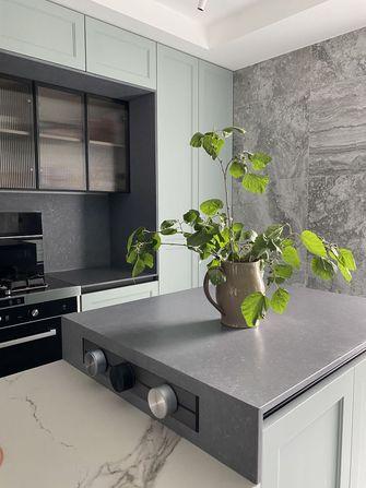 120平米三室两厅田园风格厨房图片