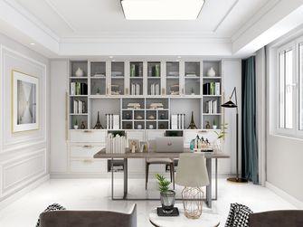 豪华型140平米复式美式风格书房图片