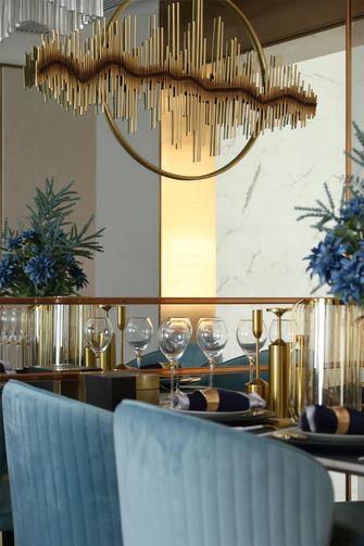 80平米地中海风格餐厅装修图片大全
