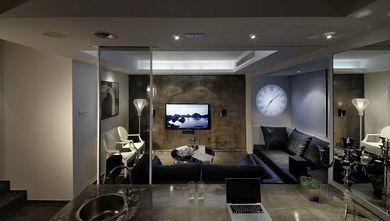 50平米一居室现代简约风格客厅效果图