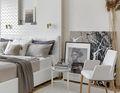富裕型130平米三室两厅北欧风格卧室图片大全
