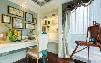 豪华型140平米四室两厅欧式风格书房欣赏图