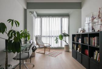 3-5万80平米一室一厅现代简约风格书房欣赏图