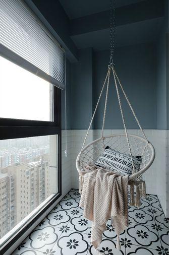 经济型80平米现代简约风格阳台装修案例
