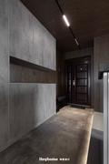 豪华型140平米四室一厅工业风风格玄关装修图片大全