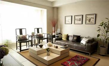 5-10万80平米三室一厅中式风格客厅欣赏图