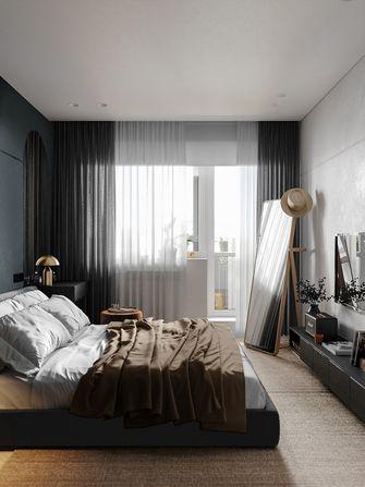 富裕型70平米北欧风格卧室效果图