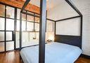 10-15万70平米一居室工业风风格卧室图