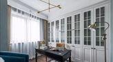110平米三室两厅美式风格书房欣赏图