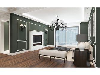 90平米三室两厅新古典风格客厅装修图片大全