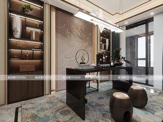 富裕型140平米四中式风格书房装修案例