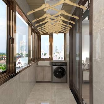 豪华型140平米四室两厅中式风格阳台效果图