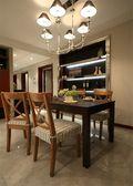 20万以上120平米三室一厅中式风格餐厅图片