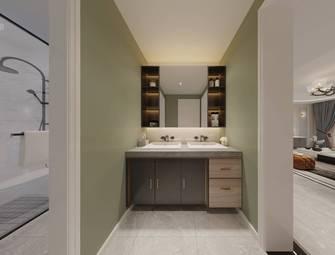 20万以上110平米三室一厅美式风格卫生间装修图片大全
