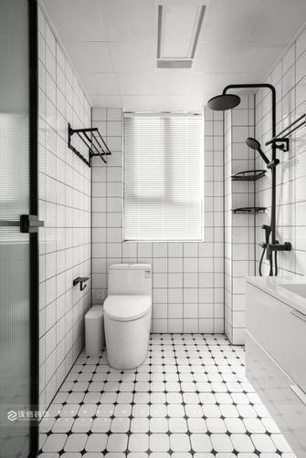 豪华型80平米三室两厅日式风格卫生间装修效果图