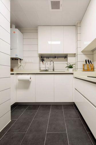 10-15万80平米三室两厅田园风格厨房设计图